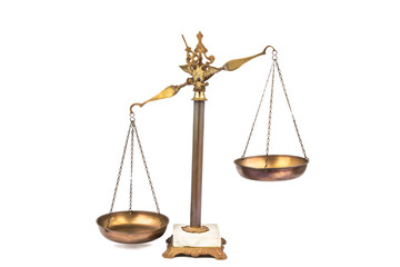 Imbalanced scale -tilted to the left