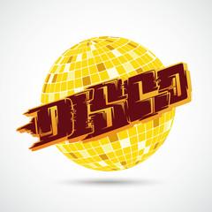 Disco Ball Graffiti