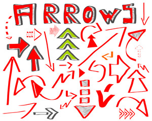 pfeile arrows skizzen