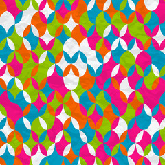 Abstract Geometrical Multicolored mosaic Background.