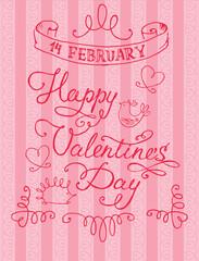 Valentine's Day, February 14