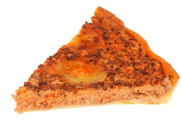 Part de tarte au thon et mozzarella
