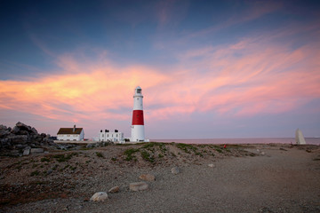Portland Bill Lighthouse in Dorset
