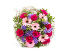bouquet of colourful flowers