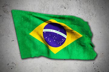 old brazilian flag