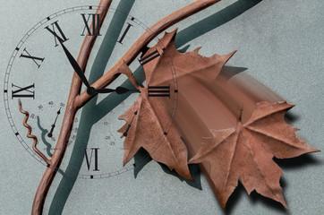 wrought iron leaf
