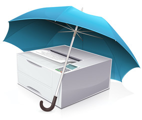 Imprimante laser : garantie et assurance