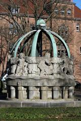 Brunnen auf dem Gutenbergplatz