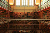 Fototapety Large old Dutch library in the Rijksmuseum in Amsterdam