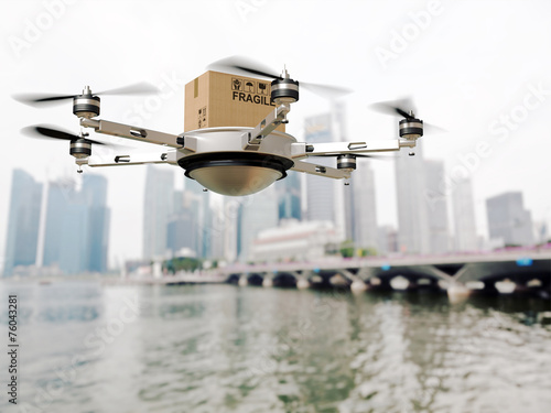 drone delivery - 76043281