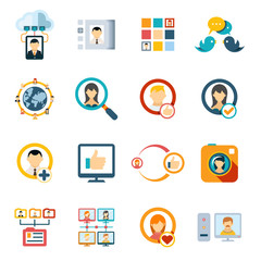 Flat Special Media Icons