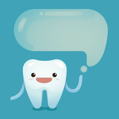 Tooth saying