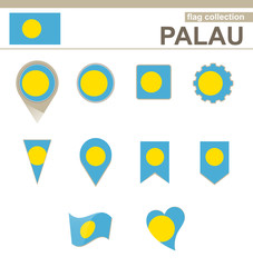 Palau Flag Collection