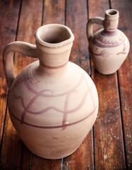 clay pitchers