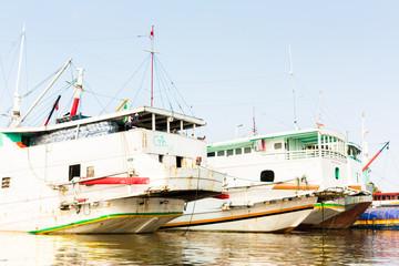 Sunda Kelapa Harbour in Jakarta, Indonesia