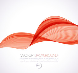 Abstract curves line  background. Template brochure design