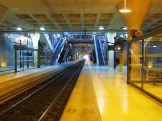 Gare souterraine d'europe