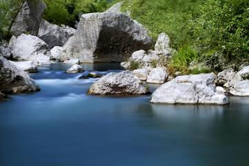 Gole su fiume
