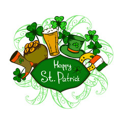 Background for Patrick's day