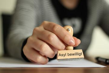 ASYL Stempel 2