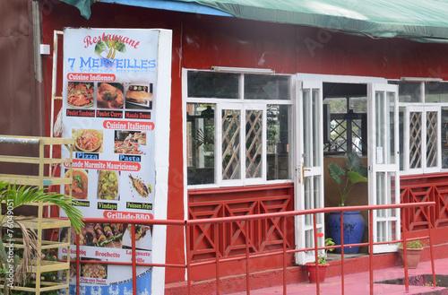 Africa, picturesque area of La Pointe Aux Canonniers in Mauritiu - 76049051