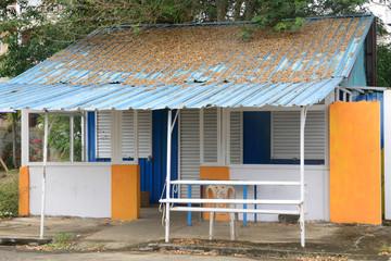 Africa, picturesque area of La Pointe Aux Canonniers in Mauritiu