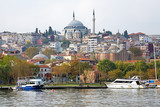 Yavuz Selim Mosque and church of Saint Theodosia in Istanbul