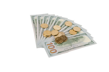Fan of dollars and hrivnyas