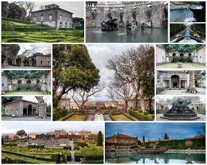 Villa Lante Viterbo Province Italy