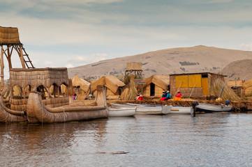 Puno, Titicaca lake