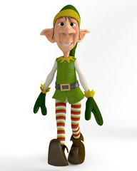 elf walking