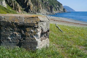 Old pillbox on seacoast 11
