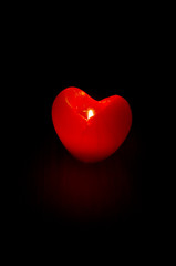 Candle - heart.