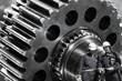 metal workers and cogwheels machinery, industrial parts