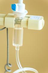drop of saline solution equipment