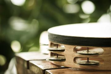 part of tambourine