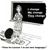 The Language of Change Management