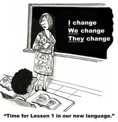 The Language of Change Management