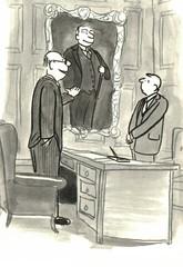 Businessman and Portrait