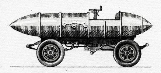 "Electromobile ""La Jamais Contente"", 1899"