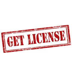 Get License-stamp