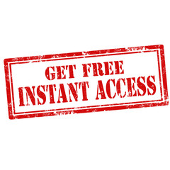 Get Free Instant Access-stamp
