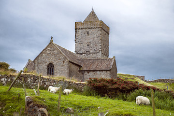 St Clements Church, Rodel, Isle of Harris, Scotland