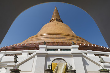 Phra Pathom Chedi(Big pagoda),Nakhon Pathom,Thailand