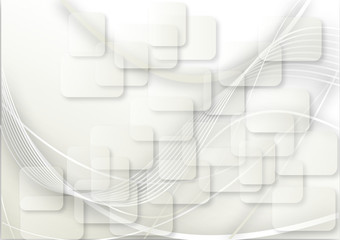 sfondo onda bianca con rettangoli