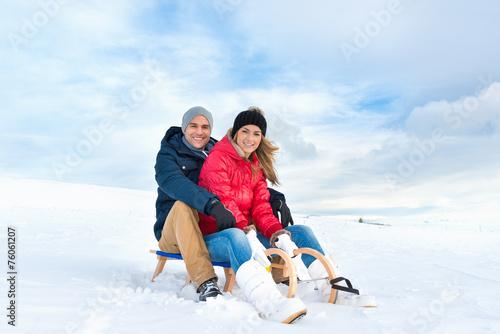 canvas print picture Winter (Ivana, David Rumetshofer)