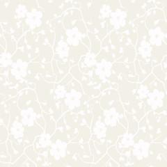 Floral pattern background spring vector illustration
