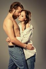 happy intimate
