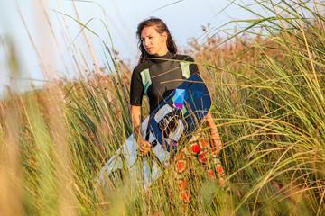 Kite Surfing Girl