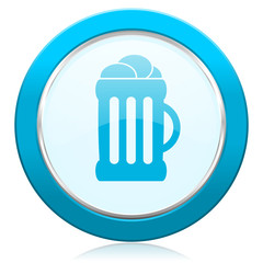 beer icon mug sign